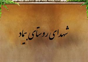 شهدای روستای بیماد